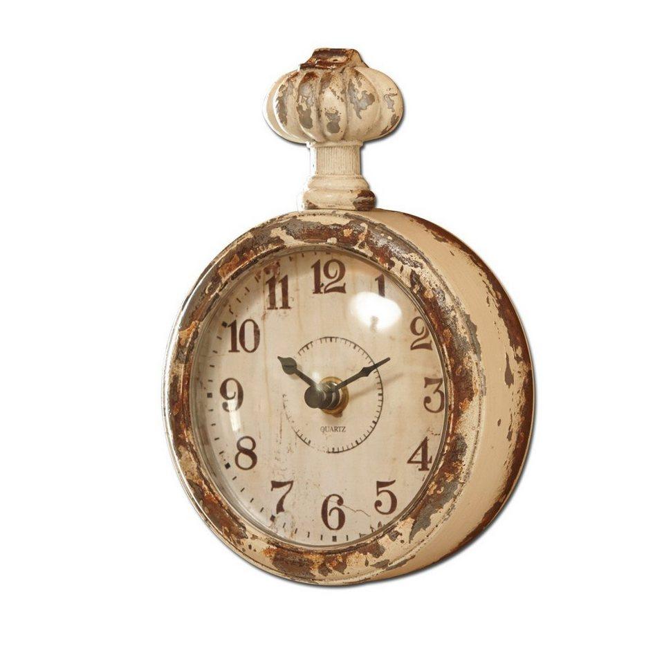 Loberon Uhr »Wido« in creme