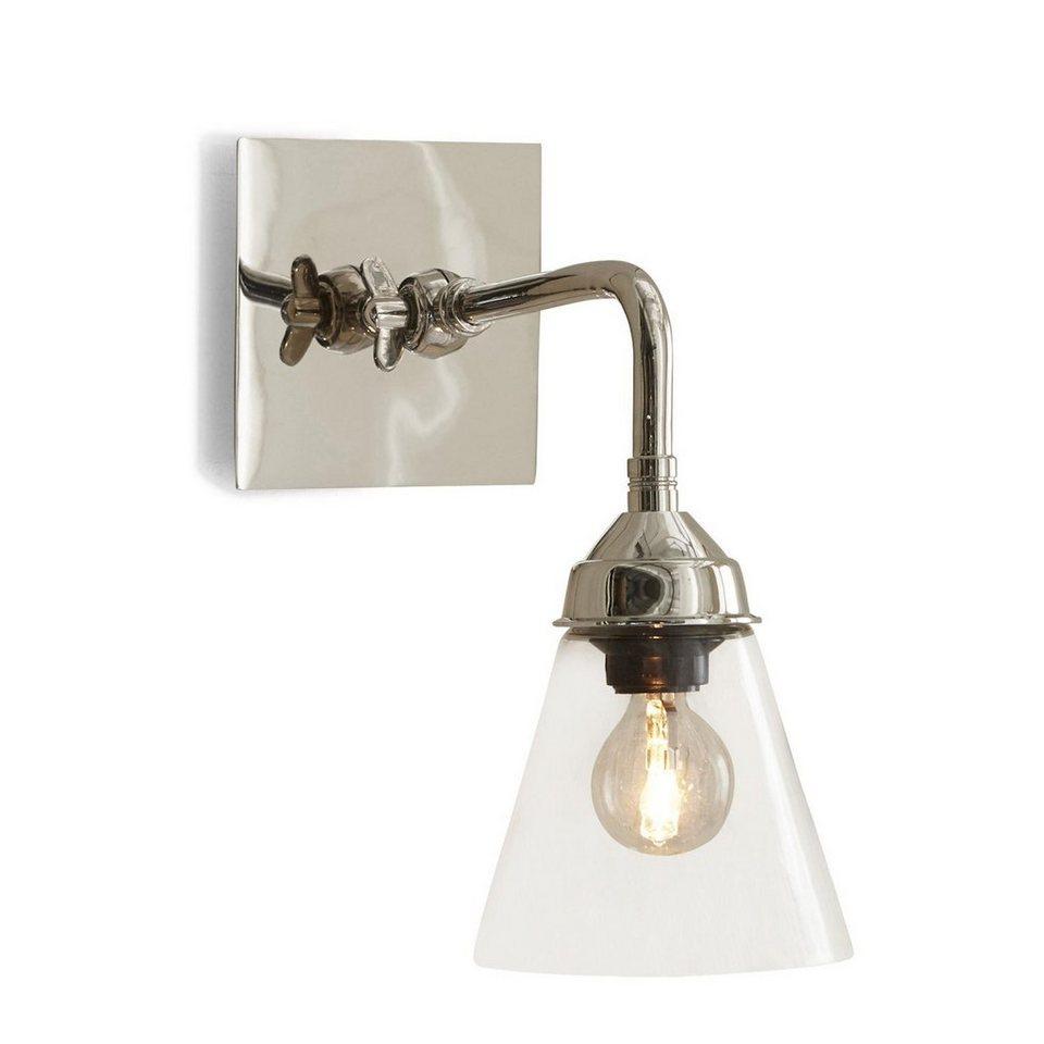 Loberon Wandlampe »Millie« in silber