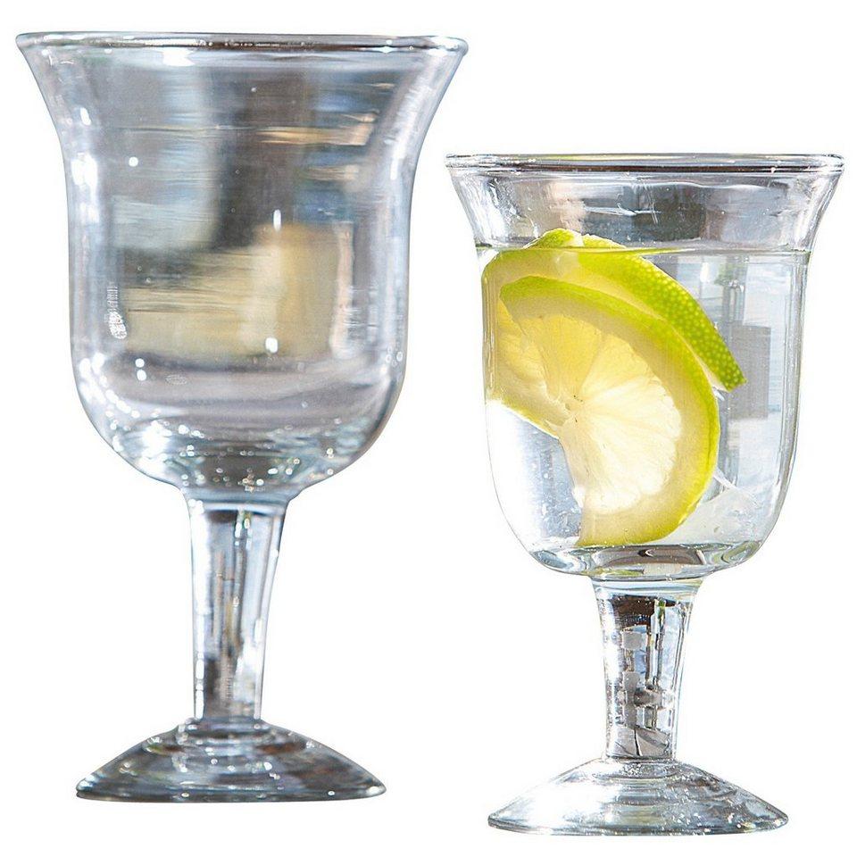 Loberon Gläser 12er-Set »Antrim« in klar
