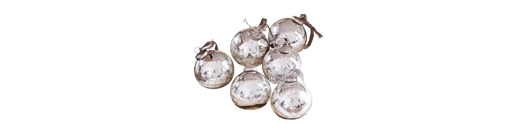 Loberon Weihnachtsschmuck 6er Packung »Gina«