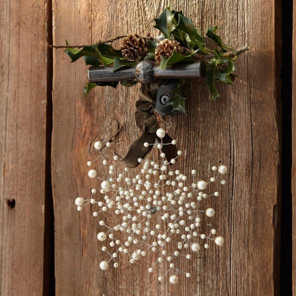 Loberon Weihnachtsschmuck 6er Packung »Estella« in creme