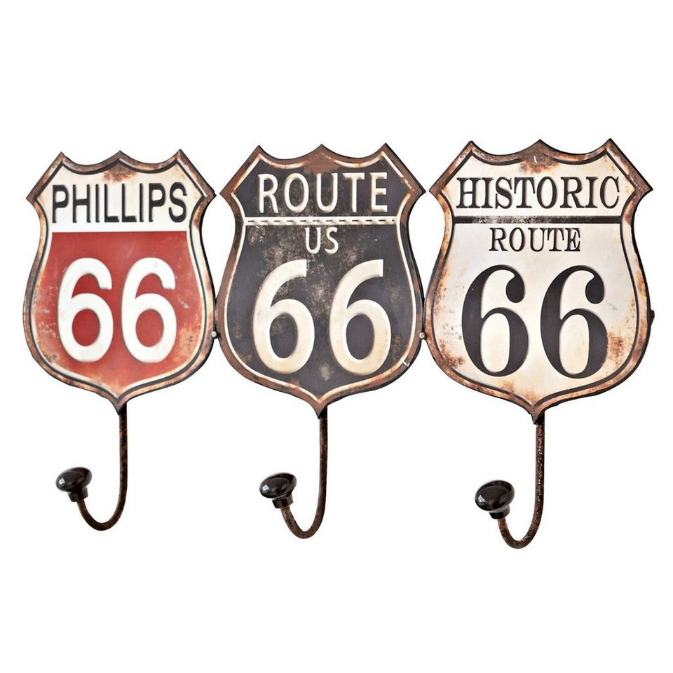 Loberon Haken »Route 66« in bunt