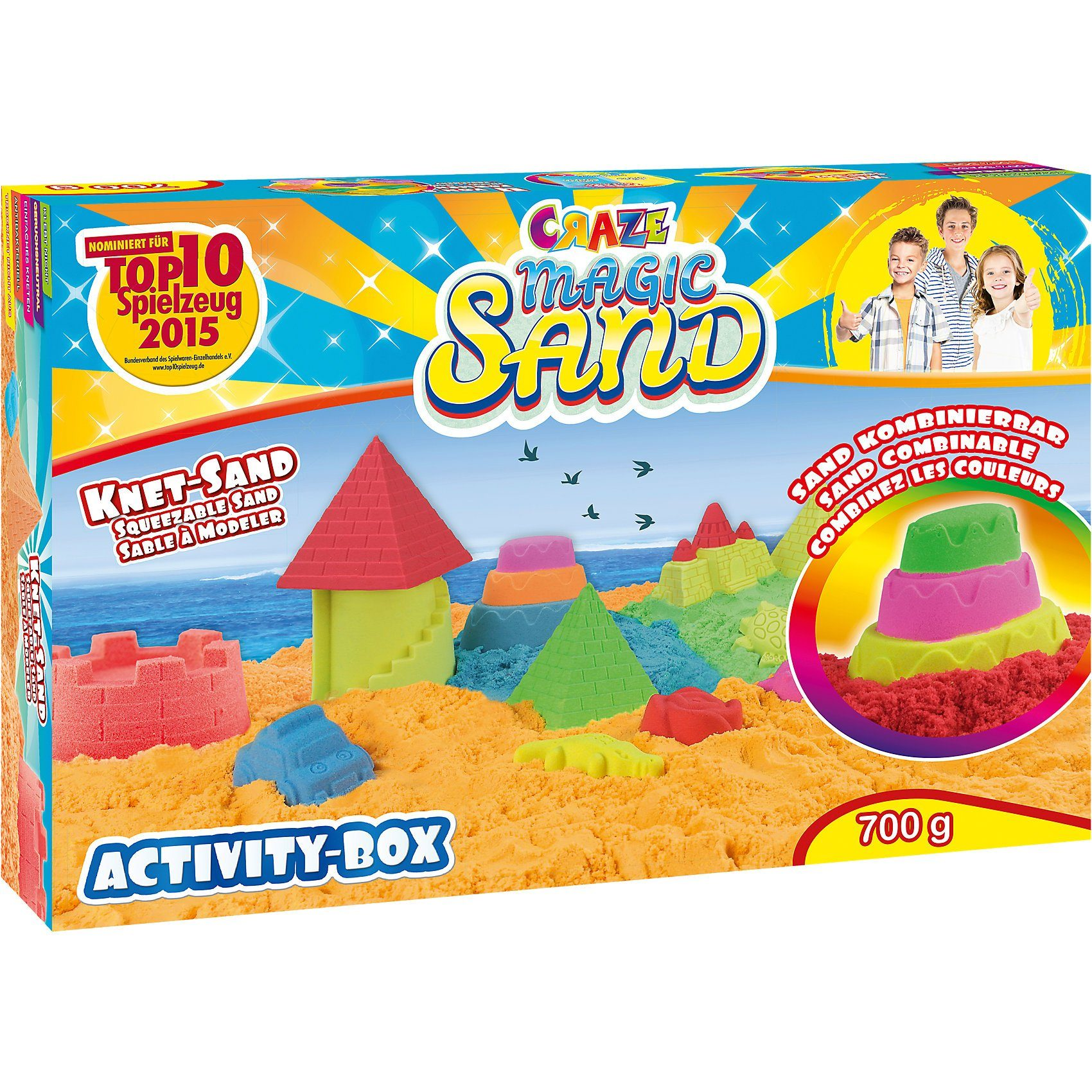 CRAZE Magic Sand - Activity Box