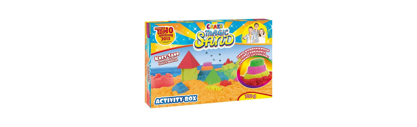 CRAZE Magic Sand - Activity Box