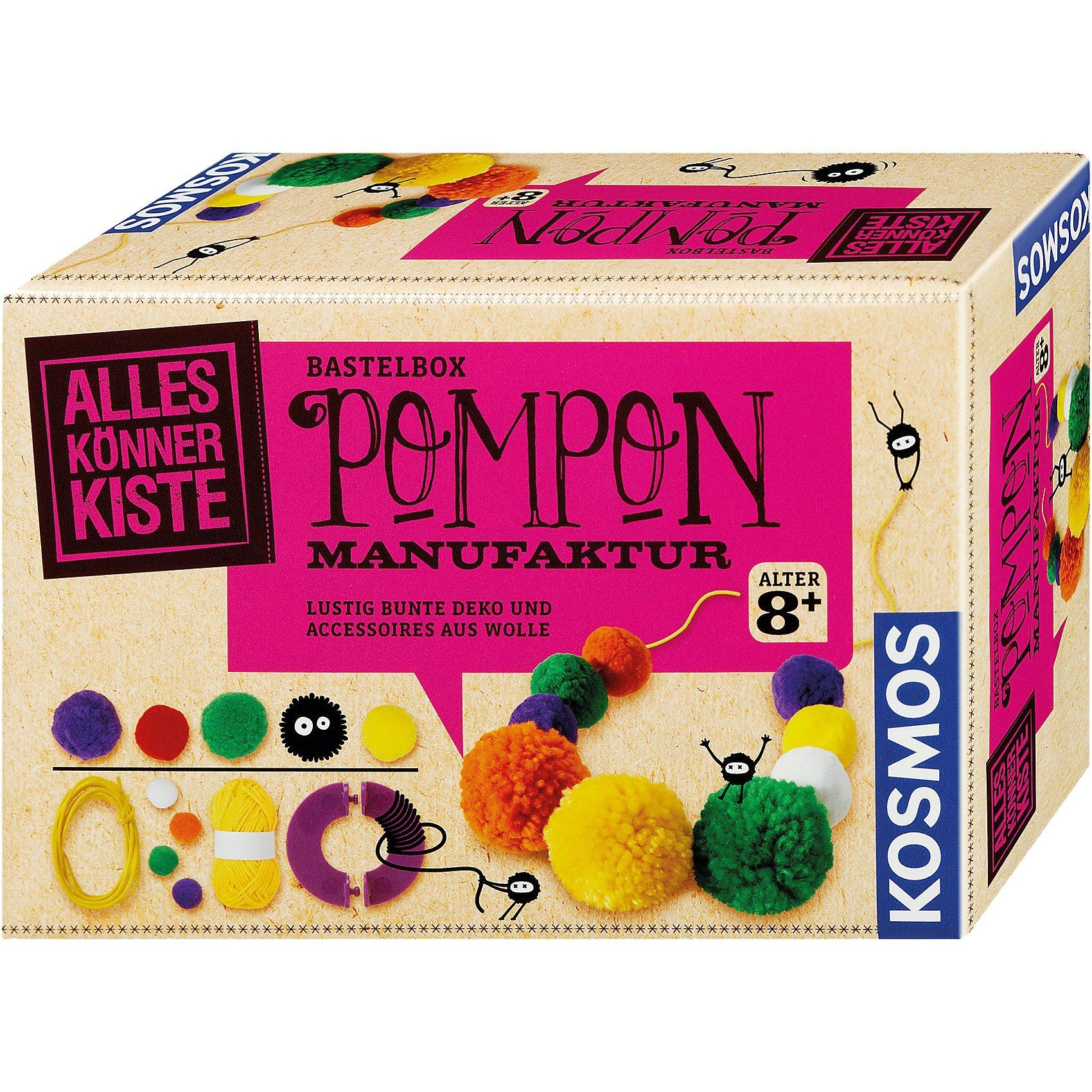 Kosmos Bastelbox Pompon-Manufaktur