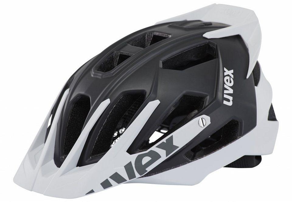 UVEX Fahrradhelm »quatro pro Helm« in schwarz