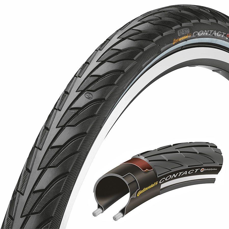 Continental Fahrradreifen »Contact II 28 x 1,6 Zoll Draht Reflex«