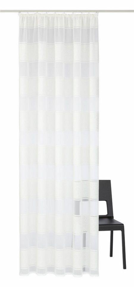 gardine home wohnideen sofia mit kr uselband 1 st ck. Black Bedroom Furniture Sets. Home Design Ideas