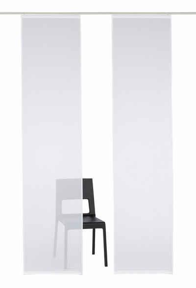 Schiebegardine »Xanten«, My Home, Klettband (2 Stück), Inkl.