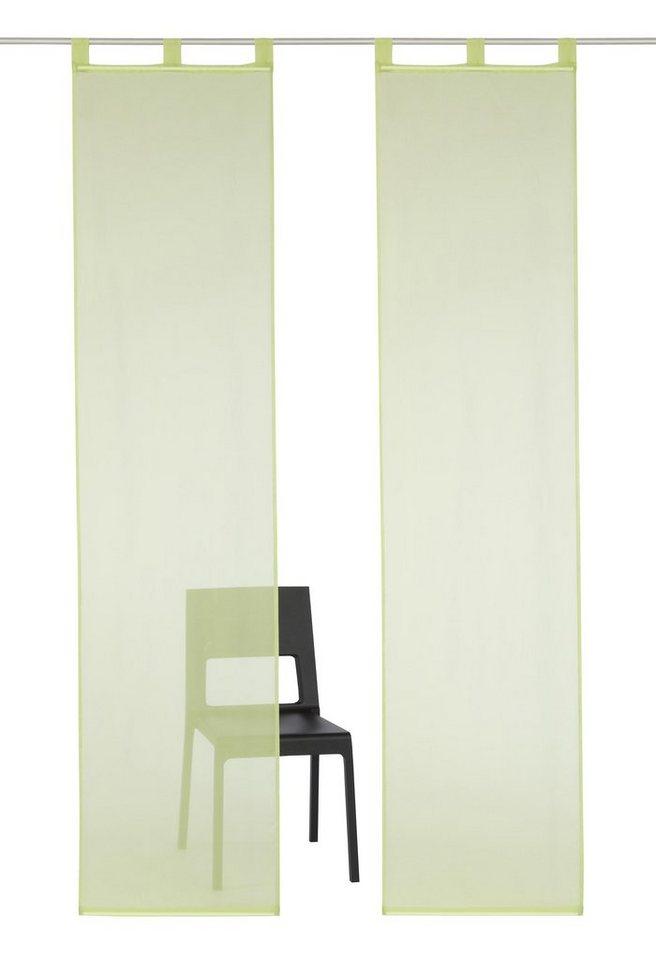 schiebegardinen schiebevorh nge online kaufen otto. Black Bedroom Furniture Sets. Home Design Ideas