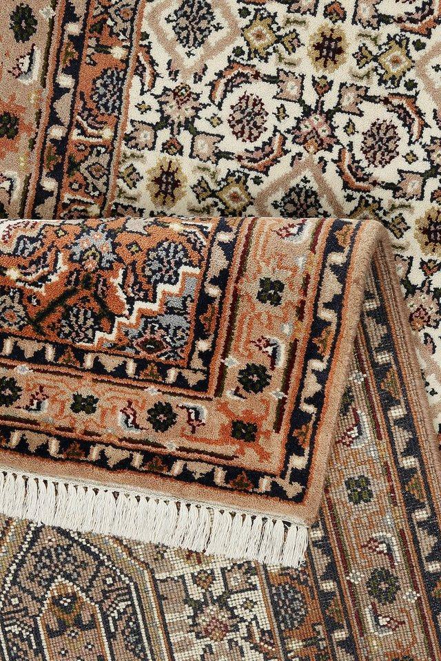 Orient-Läufer, »Indo Royal Bidjar Exclusive«,180 000 Knoten/m², handgeknüpft, reine Schurwolle