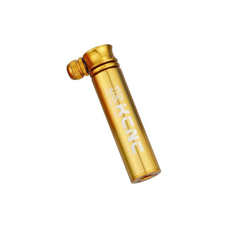 KCNC Fahrradpumpe »KOT07 Minipumpe gold«