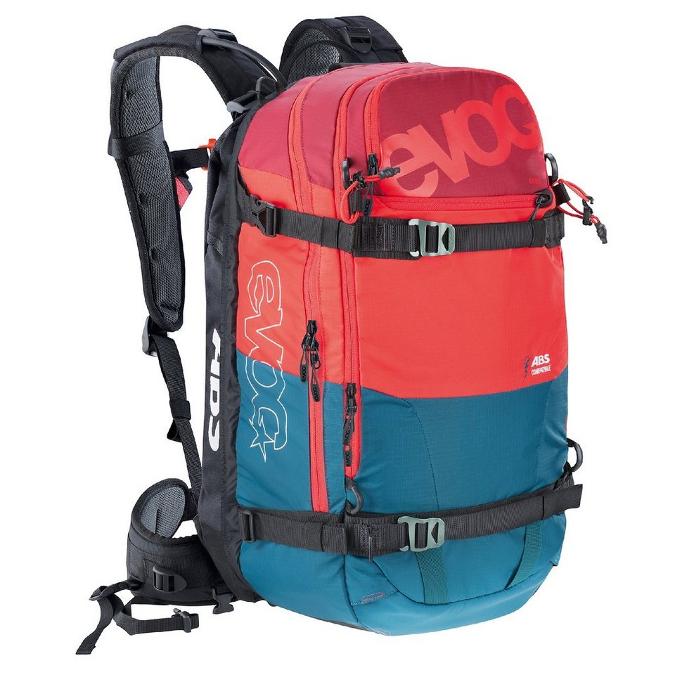 Evoc Lawinenrucksack »Zip-On ABS - Guide Team 30L« in blau