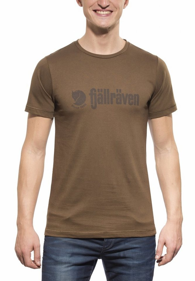 Fjällräven T-Shirt »Retro T-Shirt Men« in braun