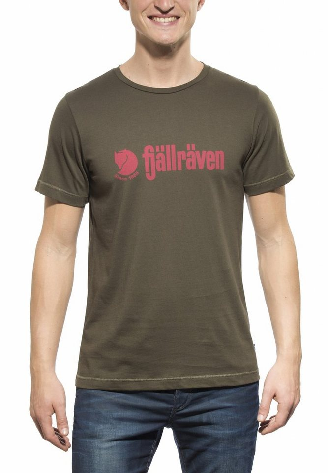 Fjällräven T-Shirt »Retro T-Shirt Men« in oliv