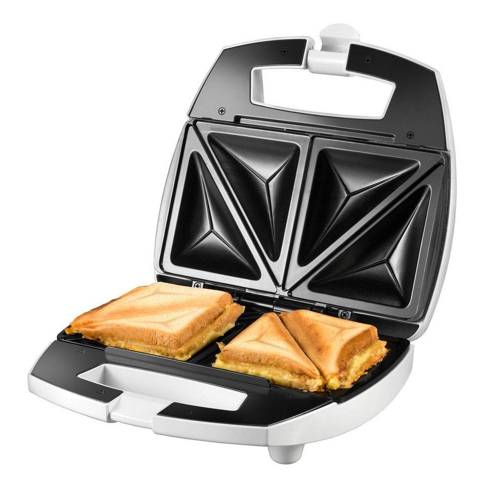 UNOLD® Sandwichmaker American 48421, 750 Watt in weiß