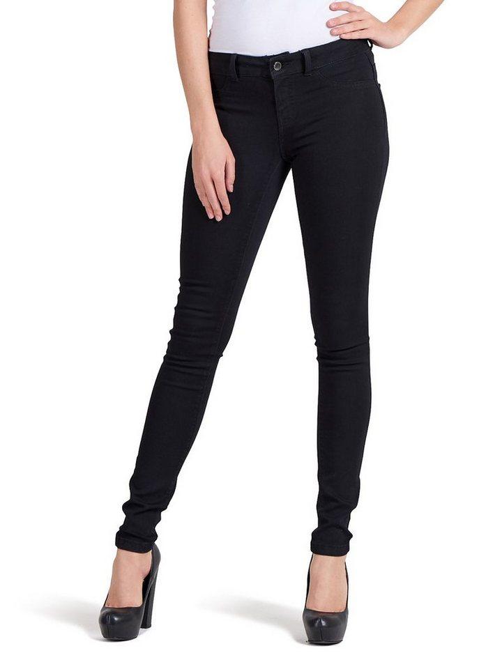 Only Fano low Skinny Fit Jeans in Black Denim