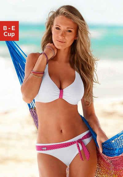Buffalo Bügel-Bikini mit süßen Kontrastdetails