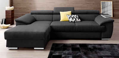 moderne ledercouch. Black Bedroom Furniture Sets. Home Design Ideas