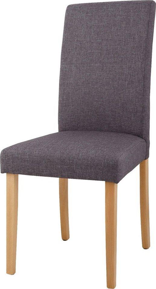 home affaire stuhl roko tiago bezug aus strukturstoff im 2 er 4 er oder 6 er set online. Black Bedroom Furniture Sets. Home Design Ideas