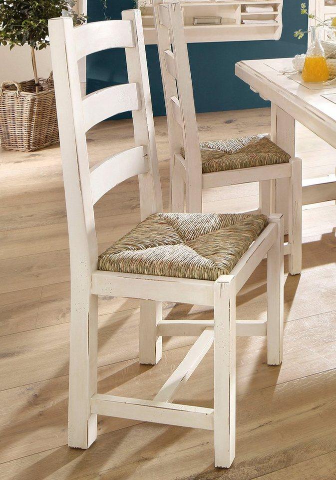 Home affaire Stuhl »Cabinet«, 4er oder 6er Set in creme/antik