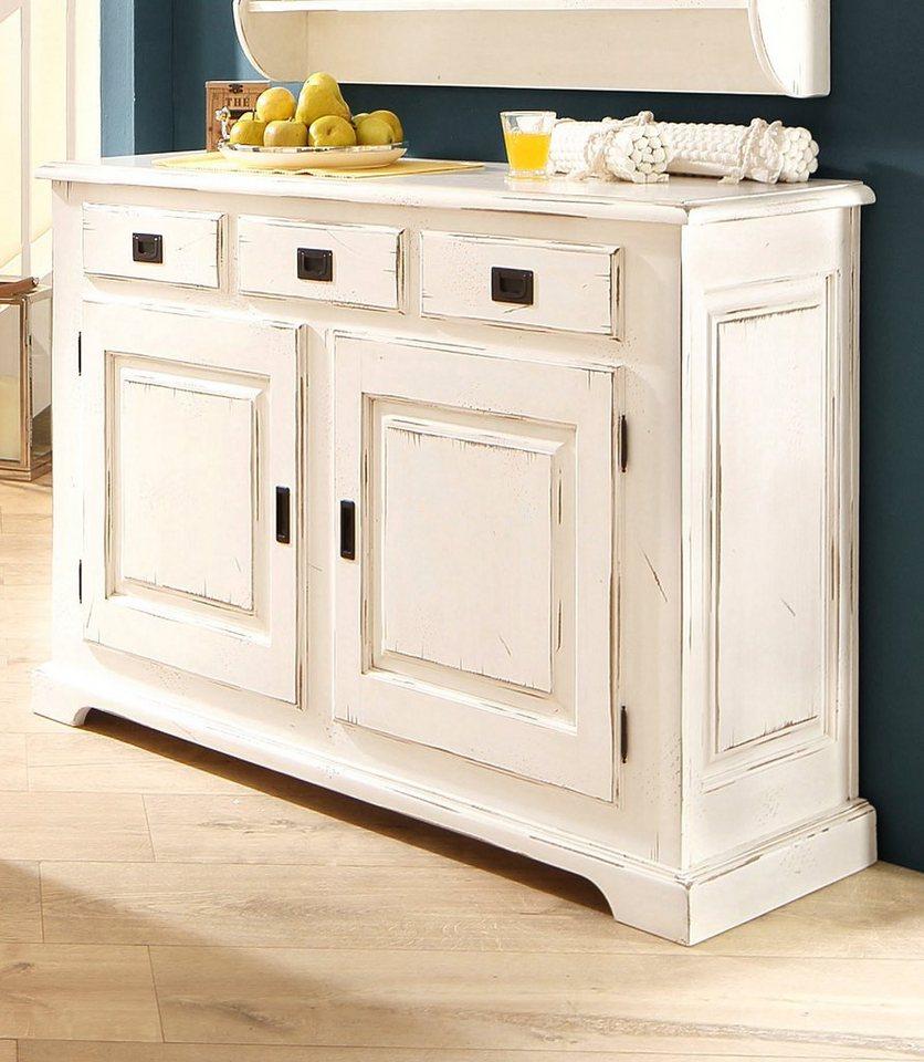 home affaire sideboard cabinet breite 140 cm otto. Black Bedroom Furniture Sets. Home Design Ideas
