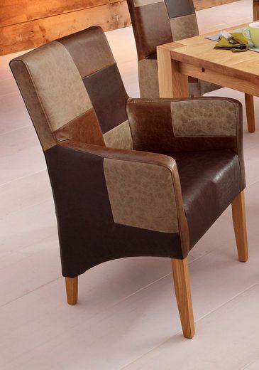 home affaire stuhl mit armlehnen in 4 farben otto. Black Bedroom Furniture Sets. Home Design Ideas