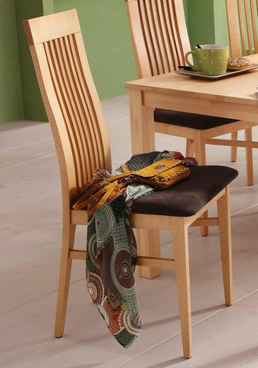 Home affaire 4-Fußstuhl »Roberta« im 2er, 4er oder 6er-Set