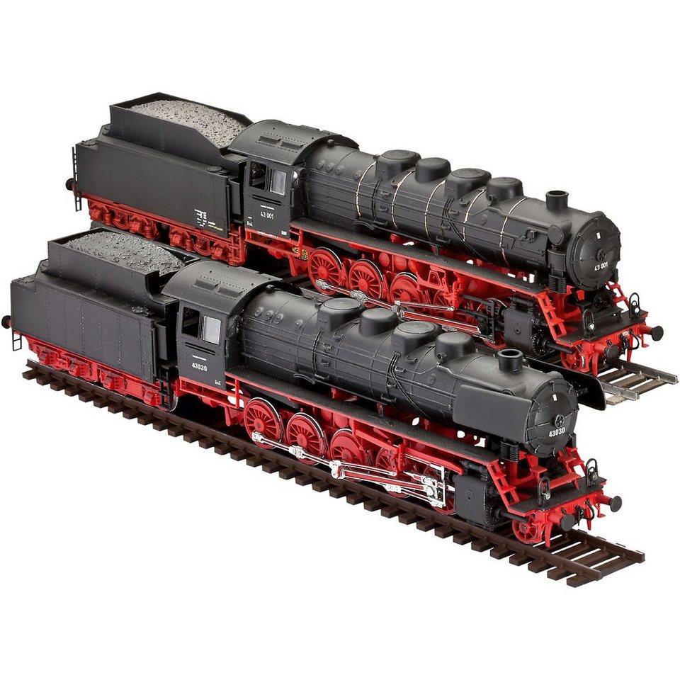 revell modellbausatz dampflokomotiven br 43 im ma stab 1. Black Bedroom Furniture Sets. Home Design Ideas