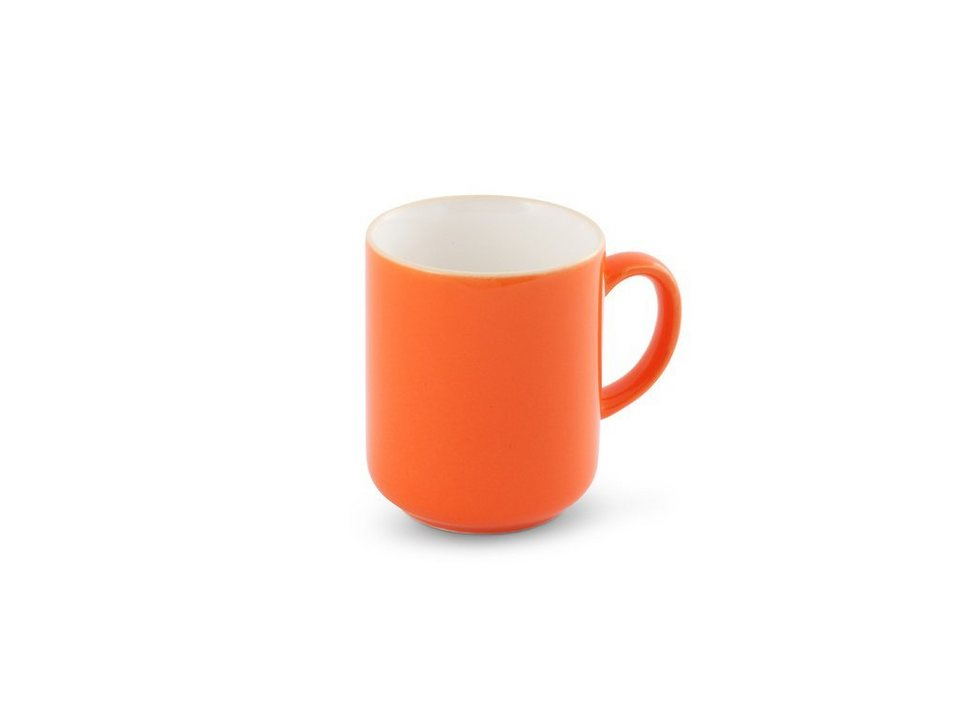 Friesland Becher »Happymix, 0,4l« in orange
