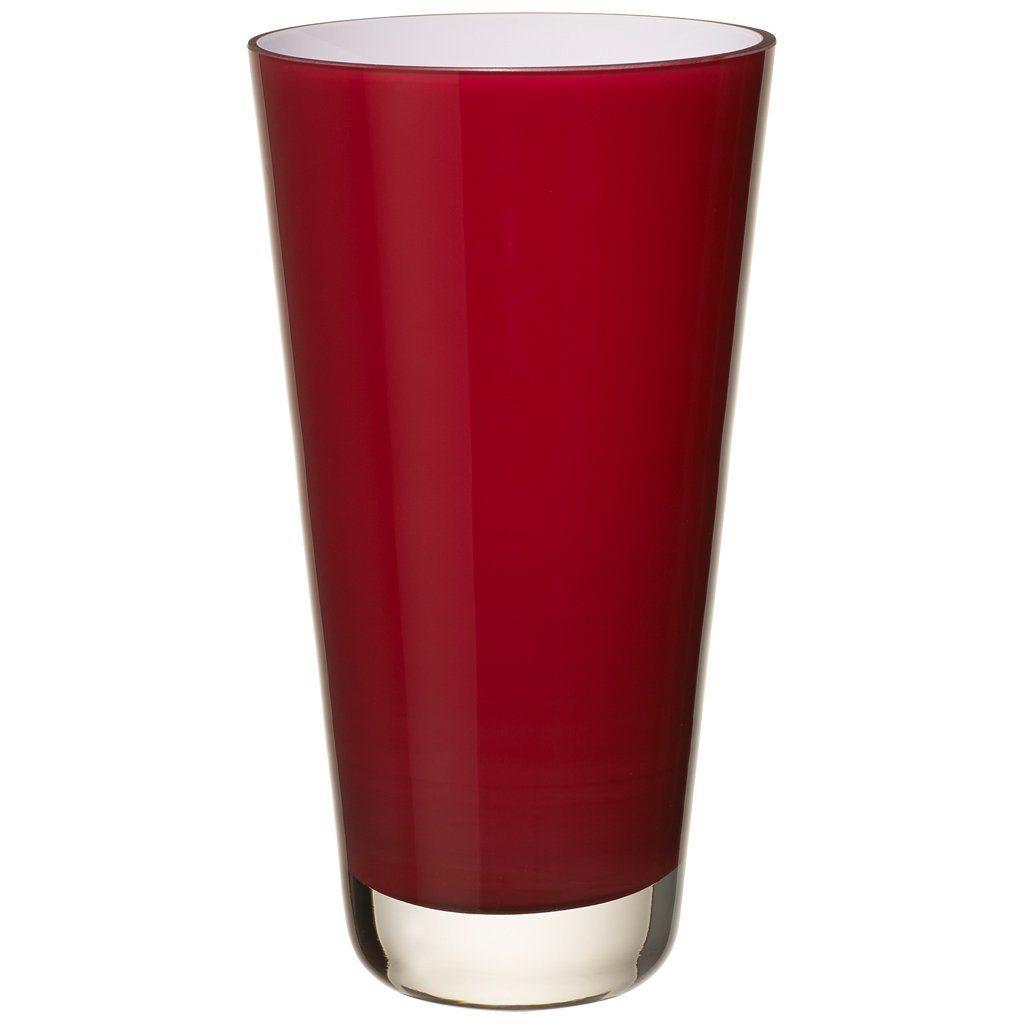 Villeroy & Boch Vase klein deep cherry 250mm »Verso«