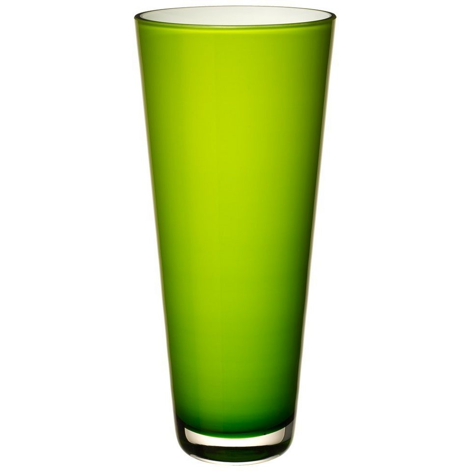 VILLEROY & BOCH Vase groß juicy lime 380mm »Verso« in Dekoriert