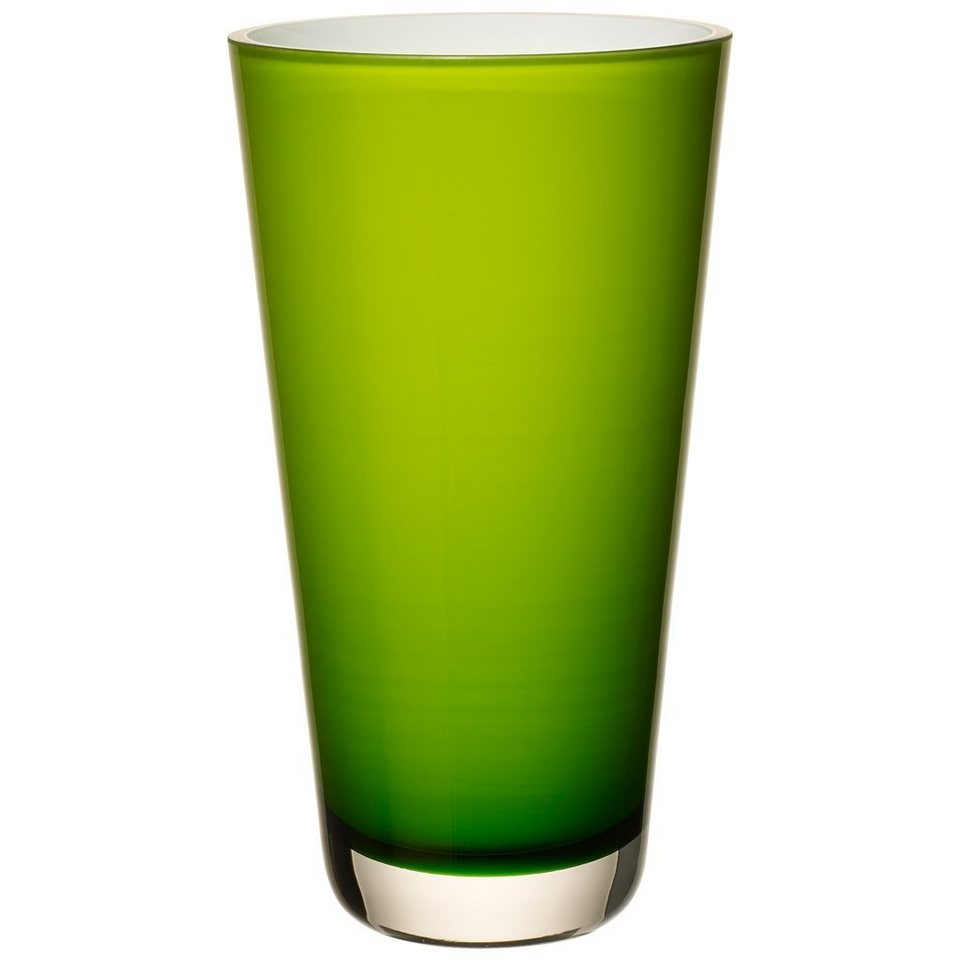 VILLEROY & BOCH Vase juicy lime klein 250mm »Verso« in Dekoriert
