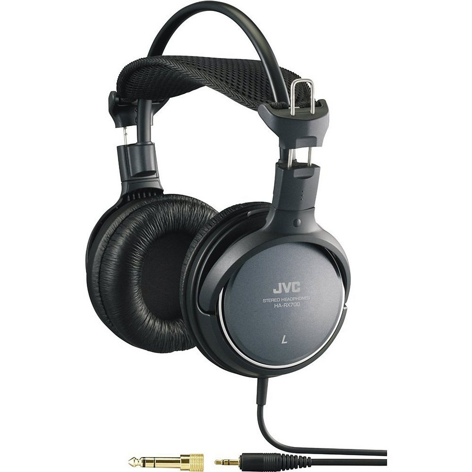JVC On Ear Kopfhörer »HA-RX700« in schwarz