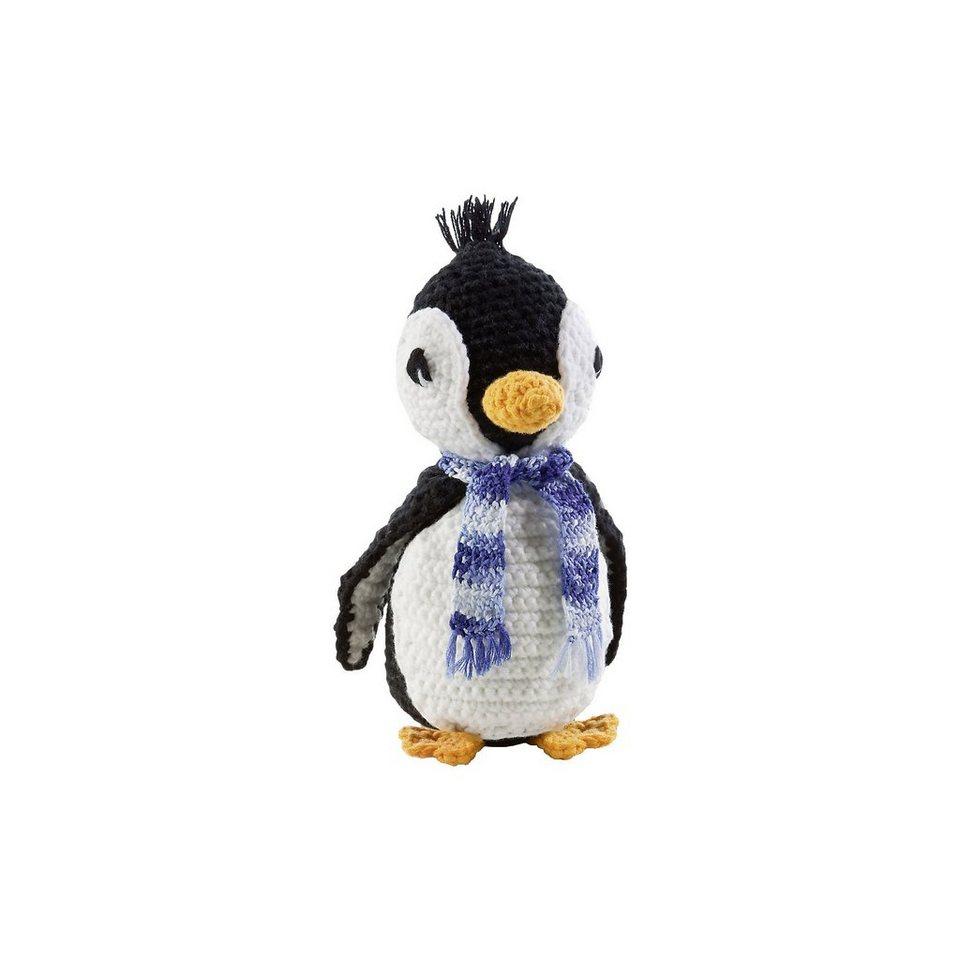Folia Häkelset Kuscheltier Pinguin