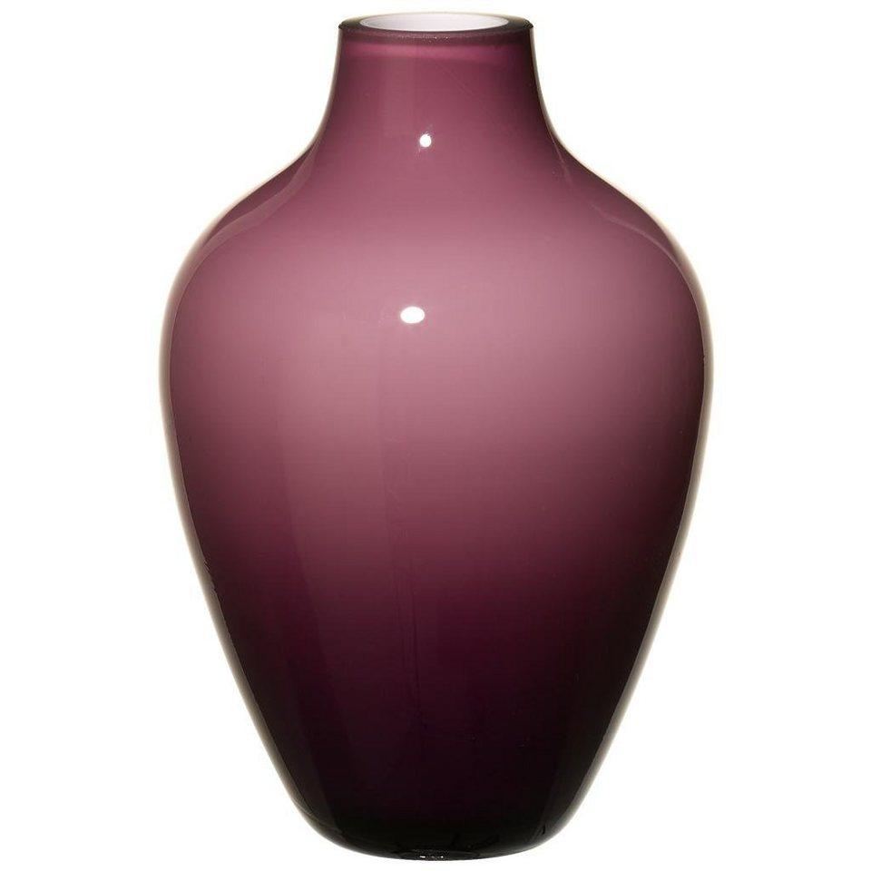 VILLEROY & BOCH Vase soft raspberry 160mm »Tiko Mini« in Dekoriert