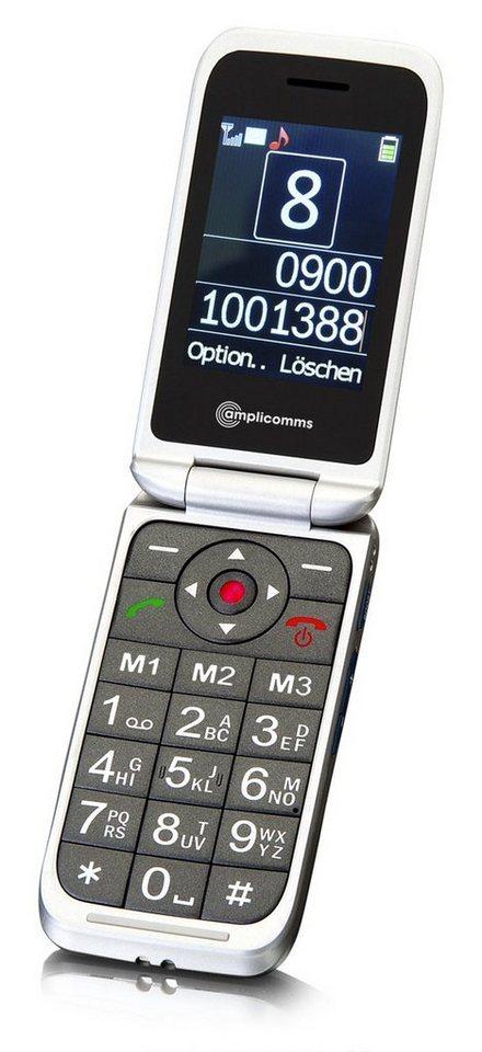 Audioline Handy »PowerTel M7000i« in Silber