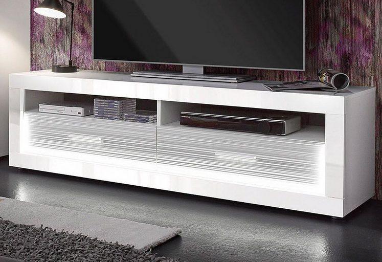 trendteam Lowboard »Starlight«, Breite 150 cm, inkl. Profil-Beleuchtung
