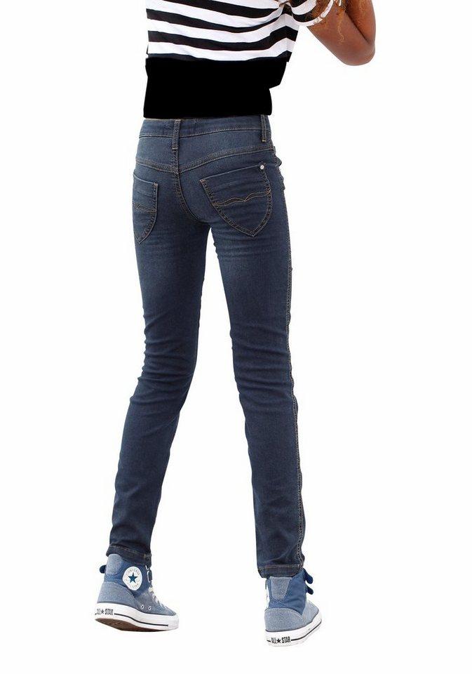 Arizona Jeans SLIM, für Mädchen in blue denim