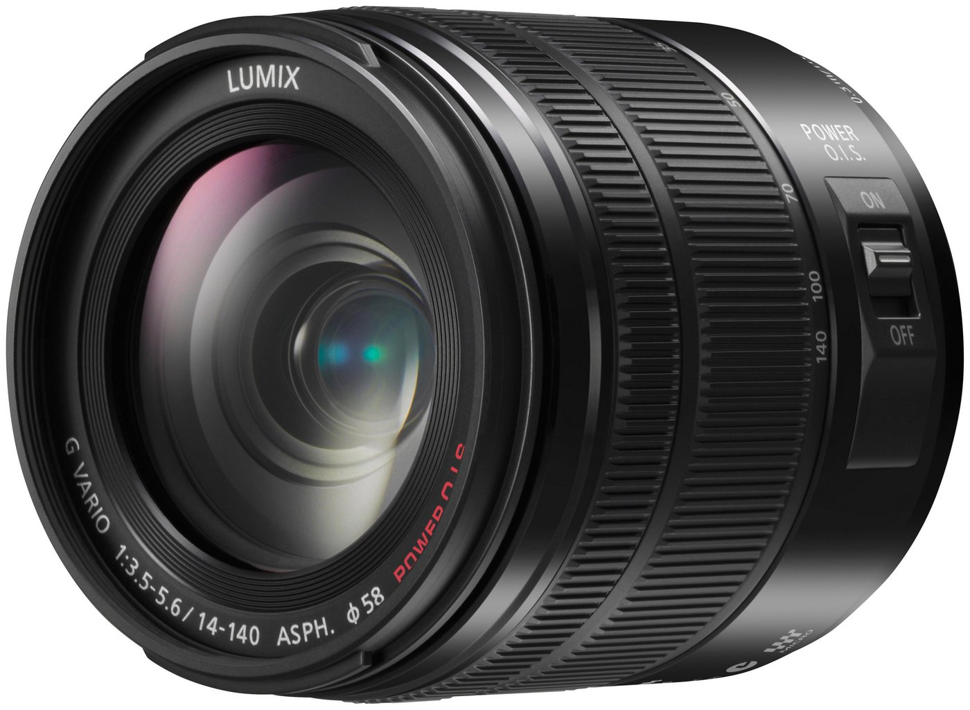 Objektive - Panasonic »H FS14140E K« Superzoomobjektiv  - Onlineshop OTTO