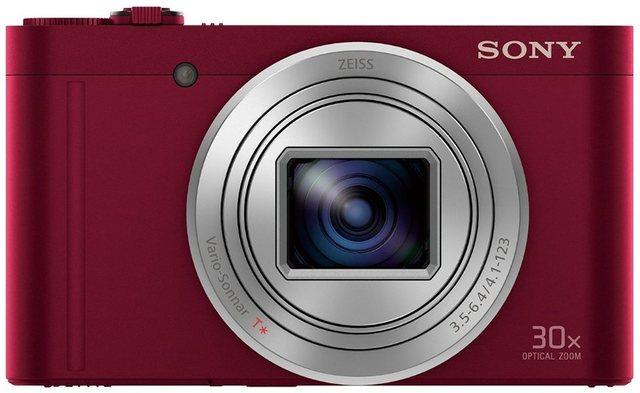Digitalkameras - Sony »Cyber Shot DSC WX500« Superzoom Kamera (18,2 MP, 30x opt. Zoom, WLAN (Wi Fi), NFC, 30 fach optischer Zoom)  - Onlineshop OTTO