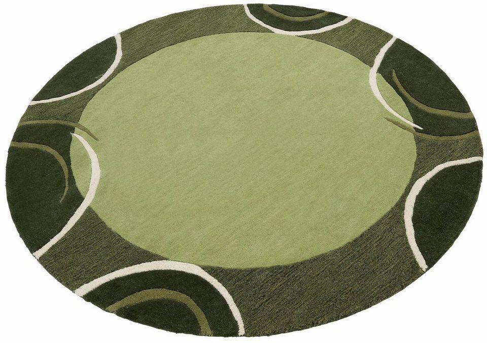 teppich rund theko exklusiv bellary handgearbeiteter. Black Bedroom Furniture Sets. Home Design Ideas