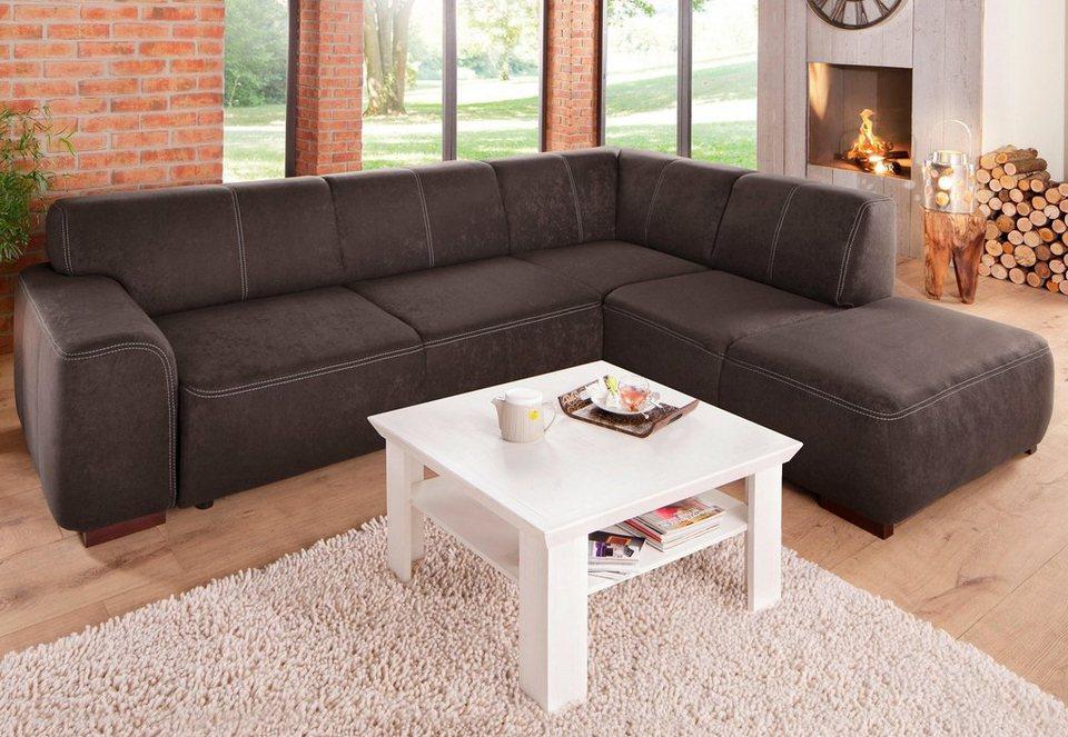 home affaire polsterecke laredo mit federkern und wahlweise mit bettfunktion online kaufen otto. Black Bedroom Furniture Sets. Home Design Ideas