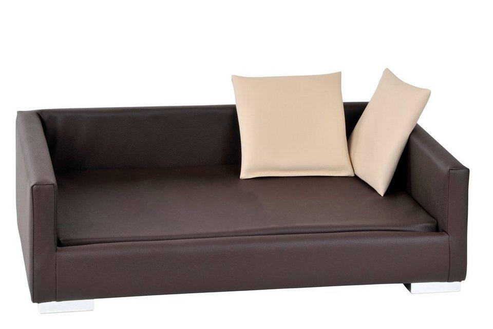 Silvio Design Hunde-Sofa »Lucky« in braun