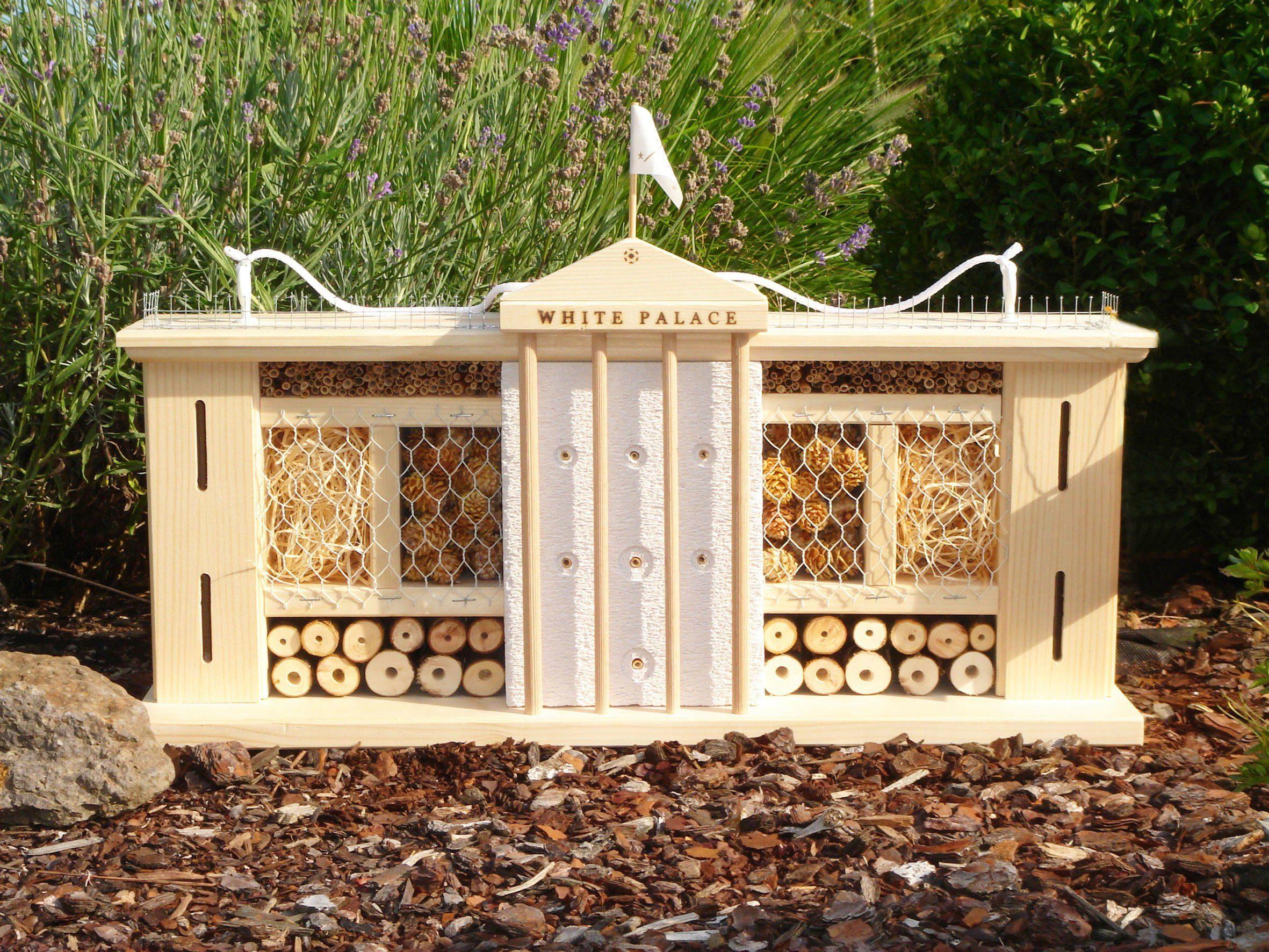 Luxusinsektenhotels Insektenhotel »Weißer Palast«