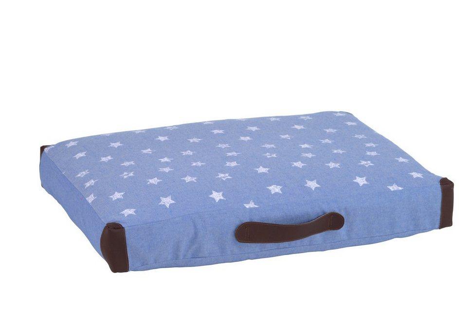 Hundekissen und Katzenkissen »Kofferkissen mit Ecken« in jeansblau