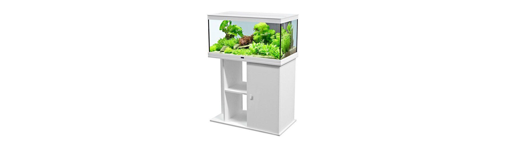 Aquarien-Set »Style 80 LED«, weiß (B/T/H: 80/35/40 cm)