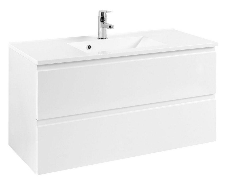 Waschtisch »Cardiff«, Breite 100 cm, (2-tlg.) in weiß