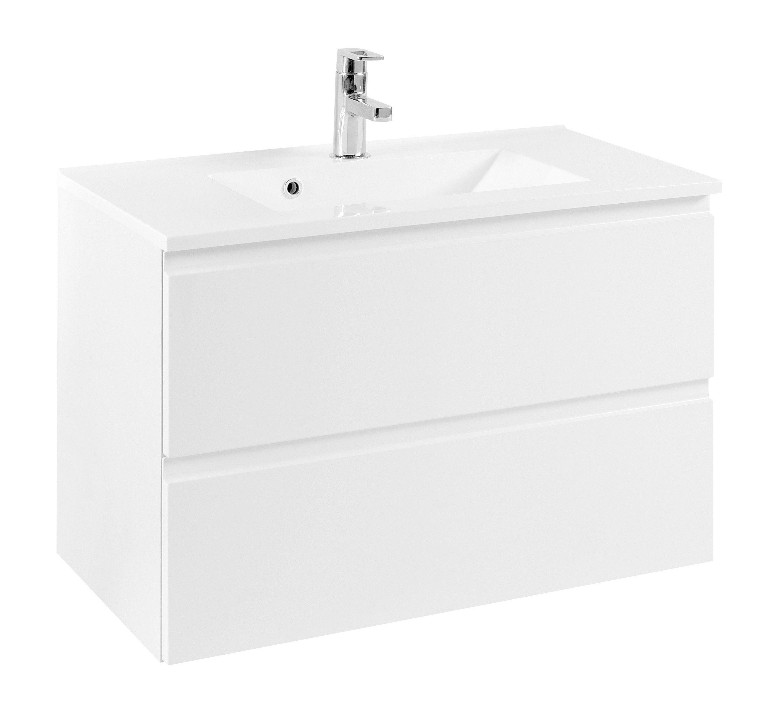 Trendig Held Möbel Waschtisch »Cardiff«, Breite 80 cm, (2-tlg.) online  ZH02