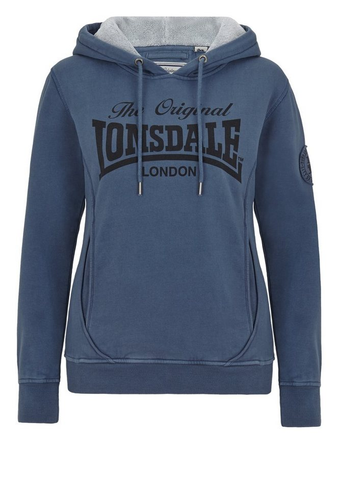 Lonsdale Kapuzenpullover »SHAWBURY« in Vintage Blue